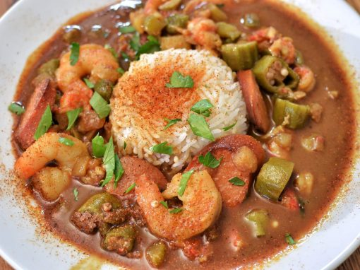 Gumbo with pangasius - Your everyday fish