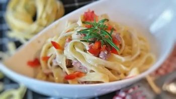 Tagliatelle with pangasius –Your everyday fish