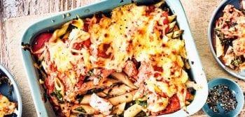 pasta and panga casserole